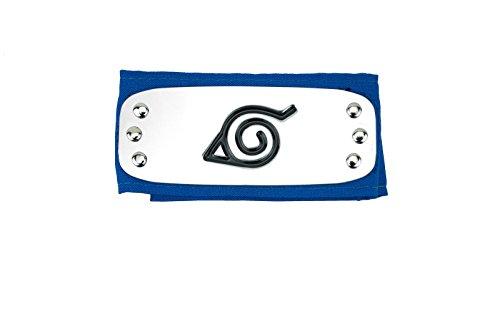 Naruto Konoha blau Anime Ninja Stirnband