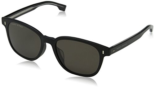 BOSS Hugo Herren 0936/S 70 003 Sonnenbrille, Schwarz (Matt Bw Black Brown), 53