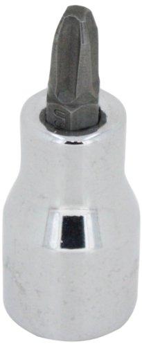 SK HANDWERKZEUG 45483number- 3Phillips Bit Socket, Drive-Schraubendreher, 3/8Zoll, chrom -