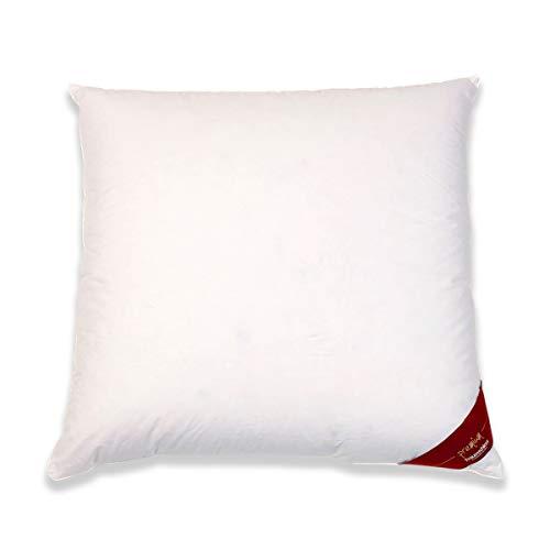Traumschloss Premium Daunen Kopfkissen Weiß 80 x 80 cm