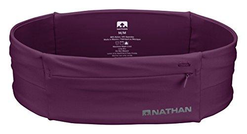 Nathan NS7702-0344-34 The Zipster Running Waist Packs, Amaranth, Größe L -