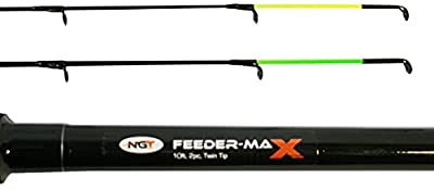NGT Unisex FR-F Master Floatmaster-12ft, 3pc Float / Match Fishing Rod, Black, 10 Ft/3.0 m from NGT