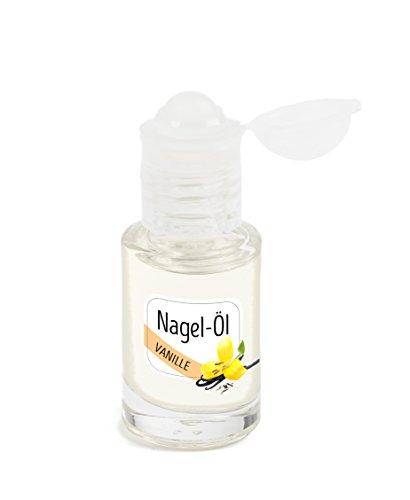 KM-Nails Nagelöl mit Vanilleschoten Duft im iRoll System 6ml Paraffin frei