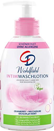 CD Wohlfühl Intim Waschlotion im Pumpspender - Pflegende Lotion für eine milde Reinigung des Intimbereichs - Vegan und seifenfrei - 6er Vorratspack (6 x 250 ml)