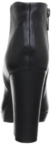 Buffalo 410-10645, Boots compensées femme Noir (Black 01)