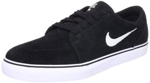 Nike Satire, Scarpe da Skateboard Uomo, Nero Nero / Bianco (nero / bianco)