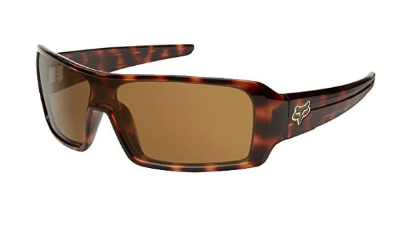 06bca90393 Fox Racing The Duncan Sunglasses - One size fits most Brown Tortoise Bronze   Amazon.in  Clothing   Accessories