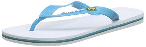 IpanemaClas Brasil II AD - Infradito Uomo , Multicolore (Mehrfarbig (white blue 8113)), 41/42