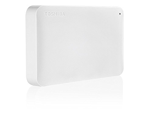 Toshiba Canvio Ready 2.0 TB - Hard disk esterno (Wired & Wireless, USB 3.0 (3.1 Gen 1) Type-A, HDD, Micro-USB, Bianco, 2.0/3.0 (3.1 Gen 1)), Bianco