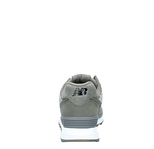 New Balance Wl574fac Baskets Donna Verde Militare