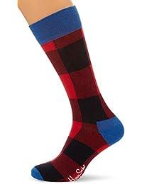 Happy Socks Lumberjack Sock, Calcetines Casual para Mujer, 1 unidad