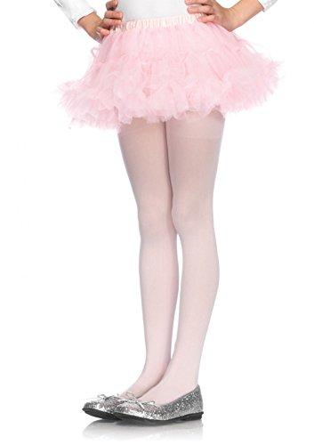 Leg Avenue- Niñas, Color Rosa, S/M (116-122 cm de Altura) (4894LPNKSM)