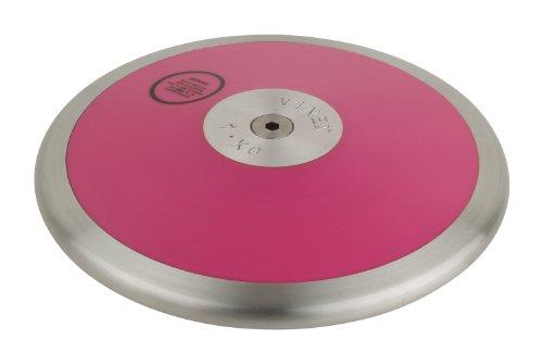 Diskuswurf: Pinker Diskus für Wettkampf + Training PINK-1000 1,00 kg