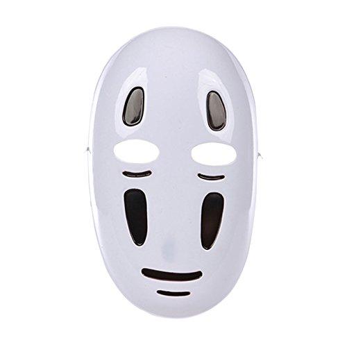 Studio Ghibli Ohngesicht Halb-Maske Fans (Chihiro Kostüm Chihiros Reise Ins Zauberland)