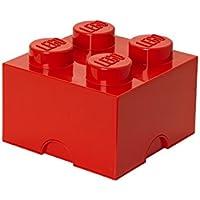 Preisvergleich für Lego Storage Brick 4 Medium Red