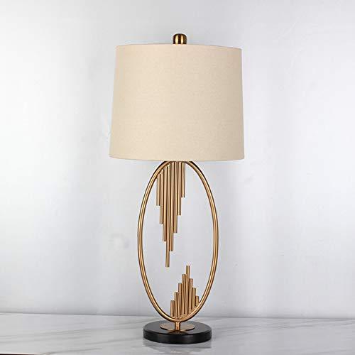 JL-Q Antike Kupfer-Metall-Orgel-Tischlampe European postmodernes Wohnzimmer Schlafzimmer Nachttischlampe dekorative Beleuchtung Warm Schreibtisch Lampe E27 Lampe Durchmesser 31cm
