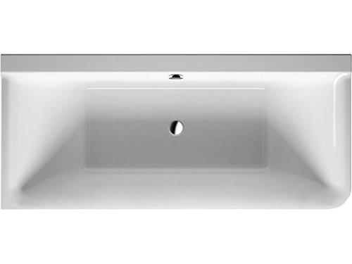Duravit Badewanne P3 Comforts 1800x800mm Ecke links, mit Acrylverkl., 2 RS, weiß, 700379000000000