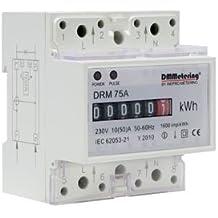 DMMetering DRM 10- 75A (50A) Contador electrónico de energía eléctrica en la clase 1 a 33100450