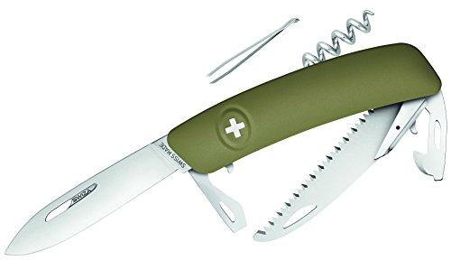 SWIZA Messer D05, khaki, Säge Schweizer Messer
