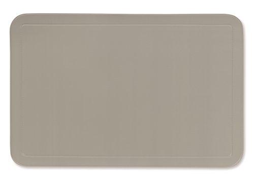 kela Tisch-Set Uni 43,5x28,5cm aus PVC in grau, Kunststoff, 1 x 28.5 x 1 cm