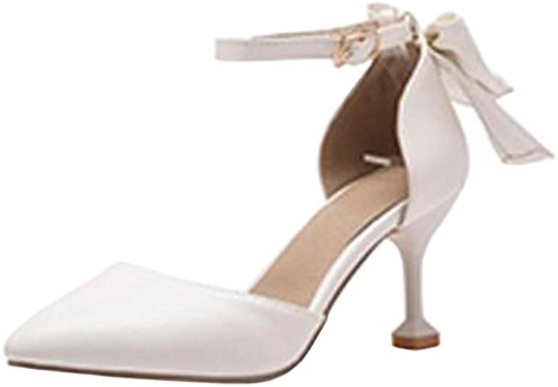 COOLCEPT Damen Mode Geschlossene Sommer Schuhe 2018 Letztes Modell  Mode Schuhe Billig Online-Verkauf
