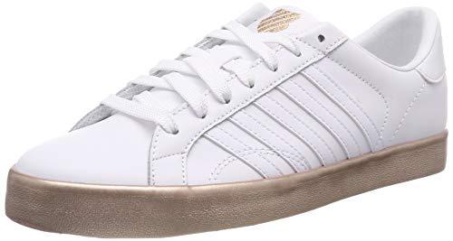 K-Swiss Damen Belmont SO Sneaker, Weiß (White/Rose Gold/Rose Gold 185), 37 EU
