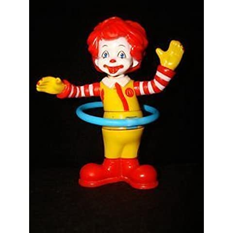 Baby Ronald McDonald Figure with Hula Hoop - 2007 McDonald's Happy Meal Toddler Under 3 (3 Happy Meal)