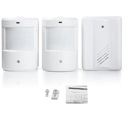 Wireless Mini Size Door Bell Outdoor Push Button Ip55 Waterproof Doorbell Elegant Design Sensitive Transmission Superior Performance Security & Protection Door Intercom