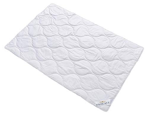 PROCAVE Baumwolle Komfort Qualitäts-Bettdecke für den Sommer 135x200cm, leichte Baumwolldecke,...