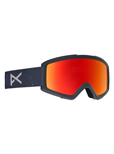 Anon Herren Helix 2.0 with Spare Snowboardbrille, Rush/Red Solex -