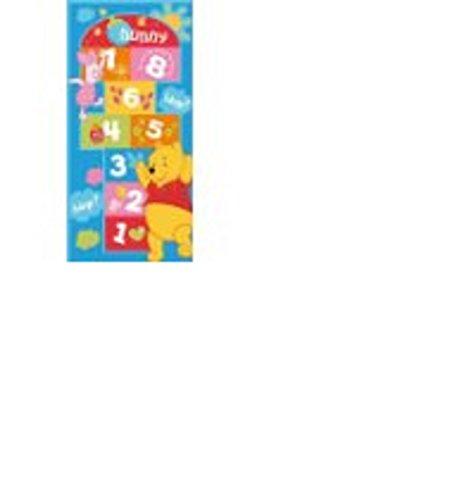 ToyOne Disney Winnie Pooh Kinder Teppich Hop 140x67cm -