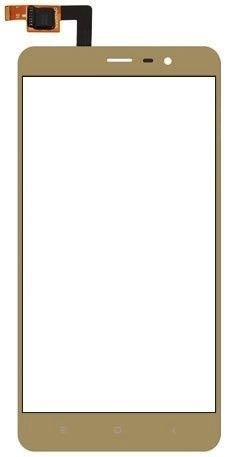 Touch screen digitizer Lens for Xiaomi Redmi Note 3 Gold ( 6 Months Seller warranty )