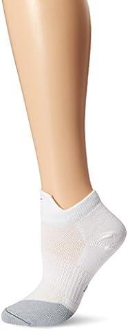 Nike Men's Dri-Fit Lightweight Low-Quarter Socks - White/Flint Grey, Small