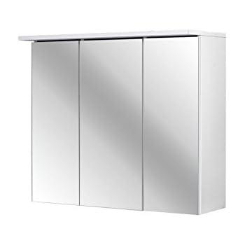 Ikea HEMNES Spiegelschrank mit 1 Tür; in weiß; (63x16x98cm): Amazon ...