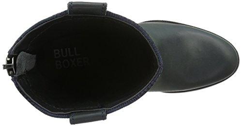 Bullboxer Damen 743m75765a Cowboy Stiefel Schwarz (p516)