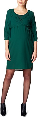 ESPRIT Maternity Damen Umstandskleid H84276, Grün (Twilight Green 385), 40 Preisvergleich