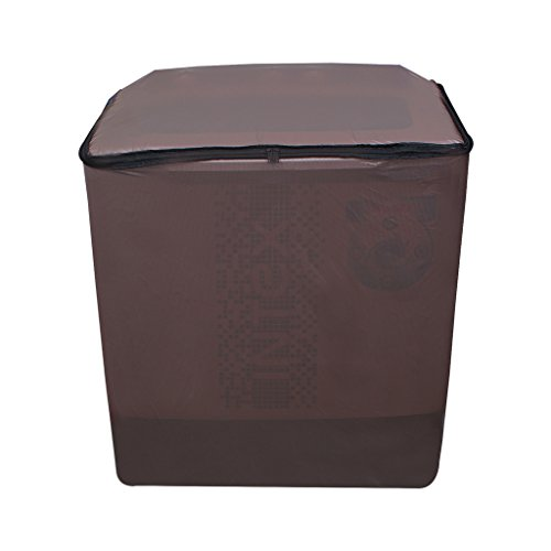 Glassiano Golden Waterproof & Dustproof washing Machine Cover For Panasonic Semi Automatic Top Load -All size model  available at amazon for Rs.359