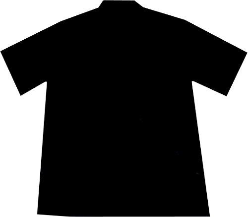 "Chemise Hawaienne Homme ""Birds of Hawaii"" 100% coton, taille M – 6XL, noir Noir"