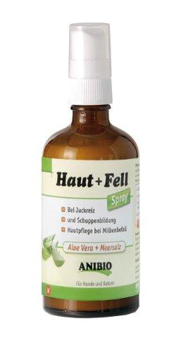 Anibio 95049 Haut Fell Mineralspray 100 ml Pflegemittel für Hunde und Katzen (Aloe Mineral)