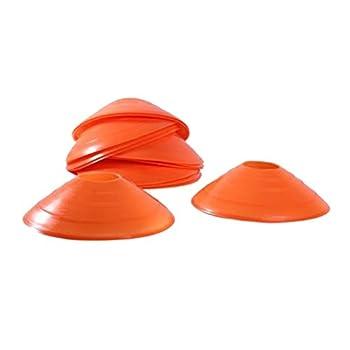 ELJQI Cono 2 Pulgadas Naranja
