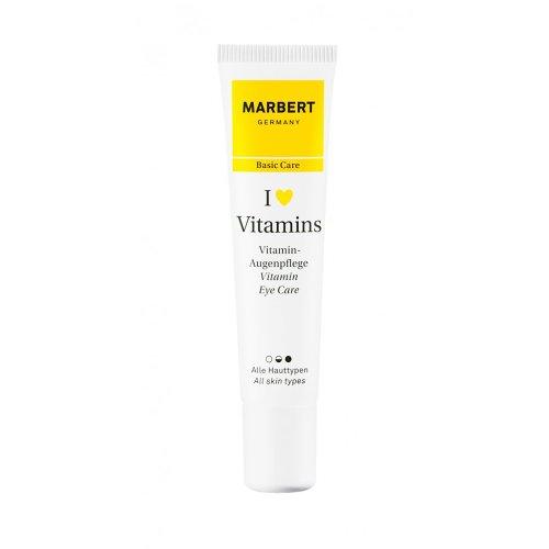 Marbert I Love Vitamins femme/women, Vitamin Eye Care, 1er Pack (1 x 15 ml)