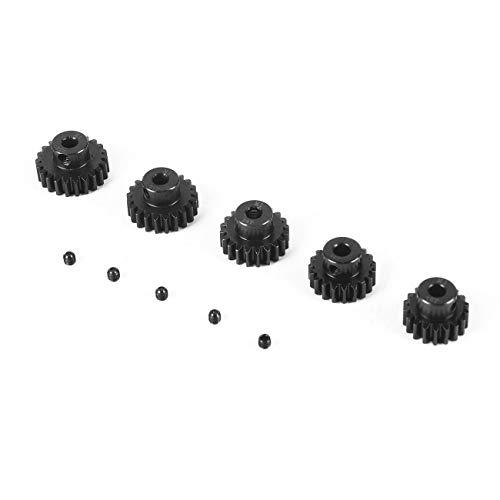 Elviray 5 Stücke M1 5mm 18 T 19 T 20 T 21 T 22 T Metall Ritzel Motor Getriebe Set für 1/8 RC Auto LKW Brushed Brushless Motor -