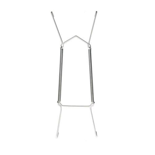 6 Stück Tellerhalter / Telleraufhänger / Tellerspirale für Teller Ø 9-13 cm - Teller 11