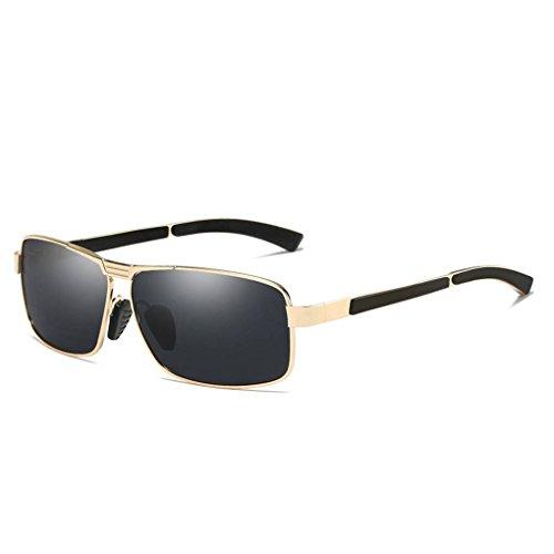 Providethebest Coolsir UV400 Schutz Männer Sonnenbrille polarisierte quadratische Brillen Outdoor-Driving Brillen Brillen 3#