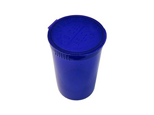 100x colore viola pop top contenitori 80ml spremere flaconcino Medical erbe Pill box 19DRAM bottiglie