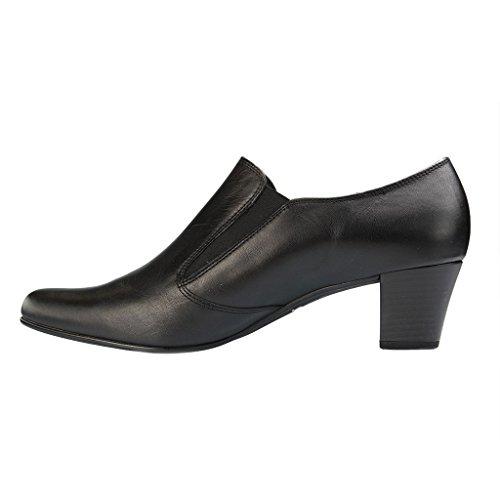 Gabor - Hart, Scarpe col tacco Donna Nero (Nero (Black Leather))