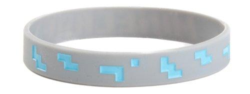 Minecraft Rubber Braccialetto Wristband Diamond Size M J!NX