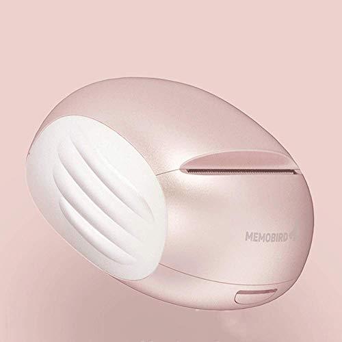 Tragbare Mini-Druckertasche Bluetooth Wireless-Papierdrucker für iPhone/iPad/Mac/Android-Geräte (Pearl Pink/Powder Blue) (Pink)
