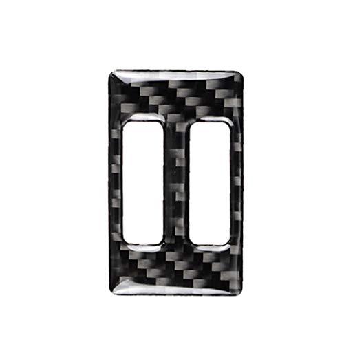 Meisijia Voiture Conditionneur de Sortie d'air en Fibre de Carbone Couverture Autocollant de Remplacement compatible avec A4 B8 2009-2016 / A5 08-17/09-17 Q5