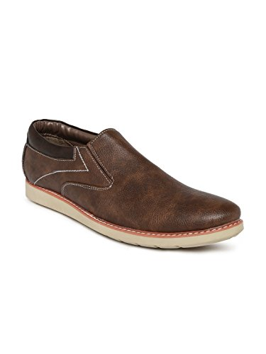 Duke Men Brown Slip-ons